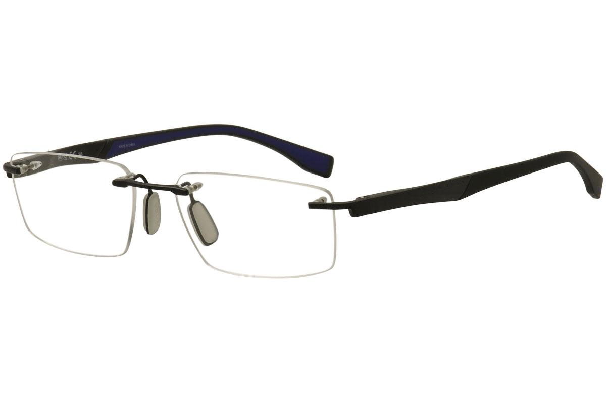 2865000eff Hugo Boss Men s Eyeglasses 0710 Rimless Optical Frame by Hugo Boss