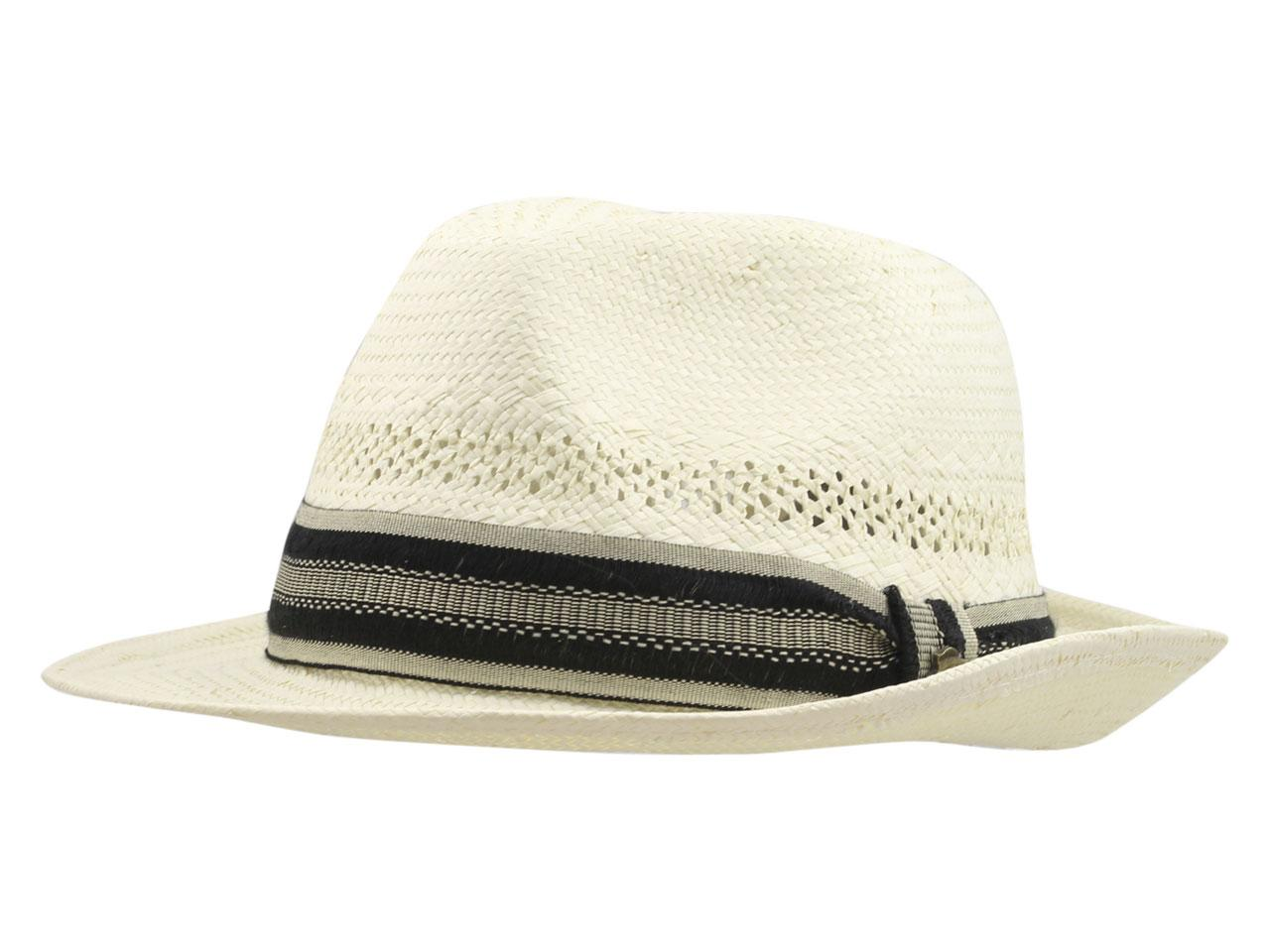39399f093c019 Tommy Bahama Men s Vented Toyo Fedora Hat by Tommy Bahama. Touch to zoom