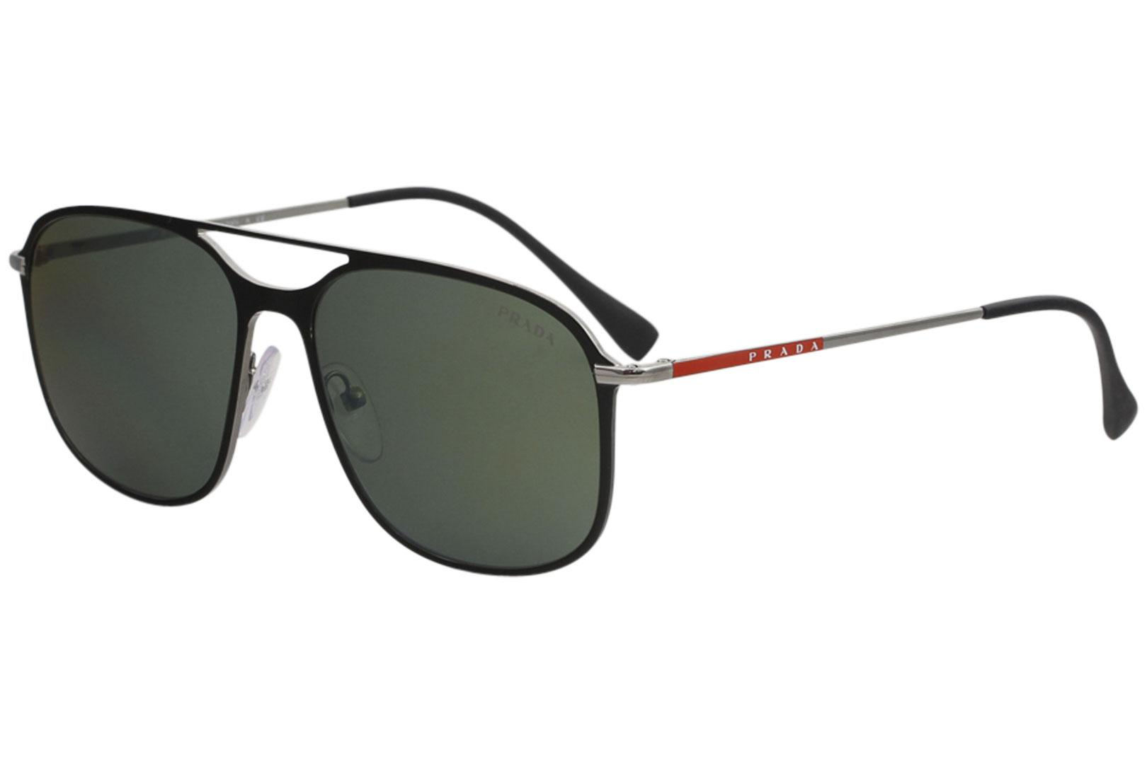 4350b45a2a1b Prada Linea Rossa Men s SPS53T SPS 53T Fashion Pilot Sunglasses by Prada  Linea Rossa