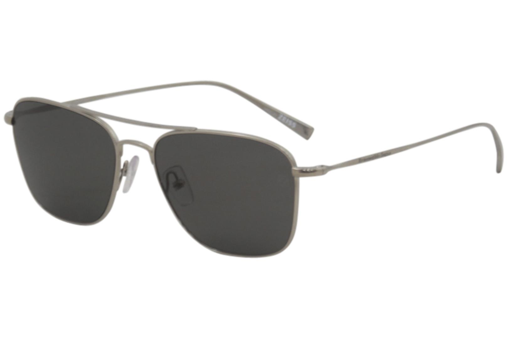 75823491d62 Ermenegildo Zegna Men s EZ0032 EZ 0032 Fashion Pilot Sunglasses by  Ermenegildo Zegna. Touch to zoom