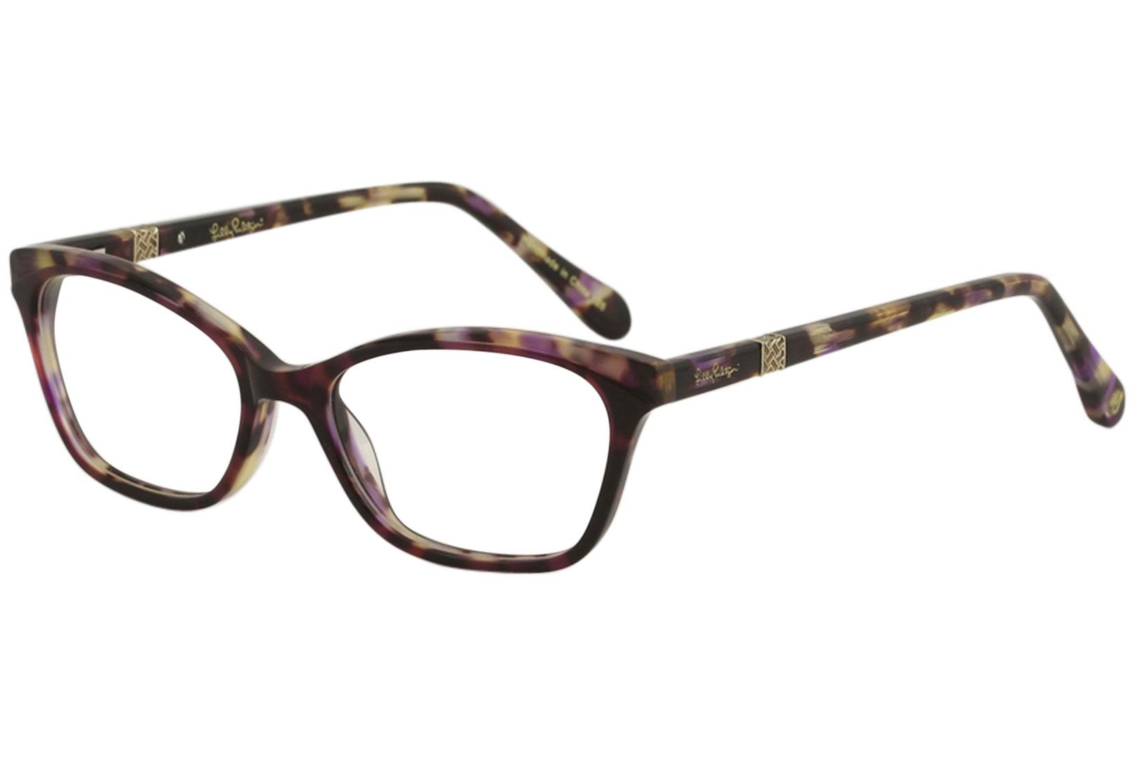 7f6d25d593a Lilly Pulitzer Women s Eyeglasses Duval Full Rim Optical Frame by Lilly  Pulitzer