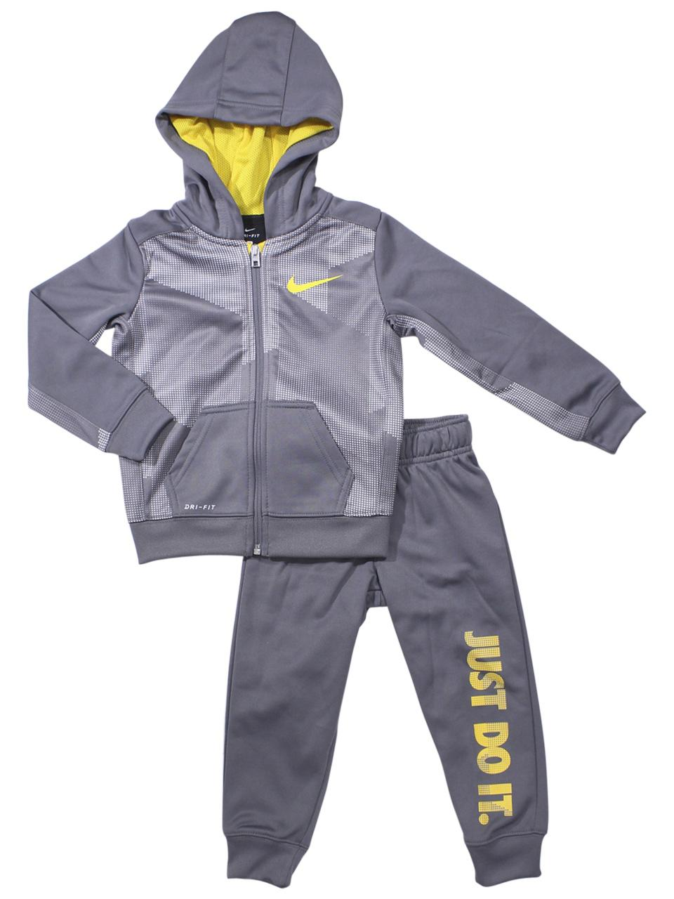 add17361f50a Nike Toddler Boy s 2-Piece Just Do It Therma Hoodie   Pants Set
