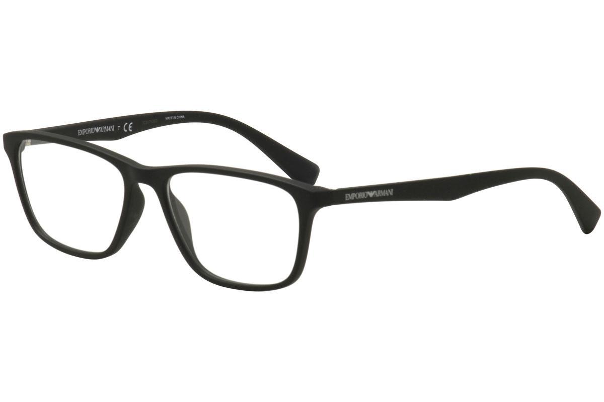 dceef603f66 Emporio Armani Men s Eyeglasses EA3086 EA 3086 Full Rim Optical Frame by Emporio  Armani