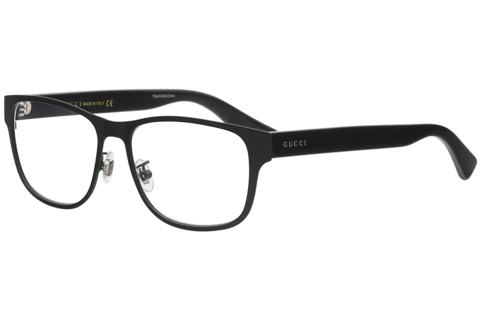 96bae07d9a15 Gucci Men's Eyeglasses GG0007O GG/0007/O Full Rim Optical Frame by Gucci