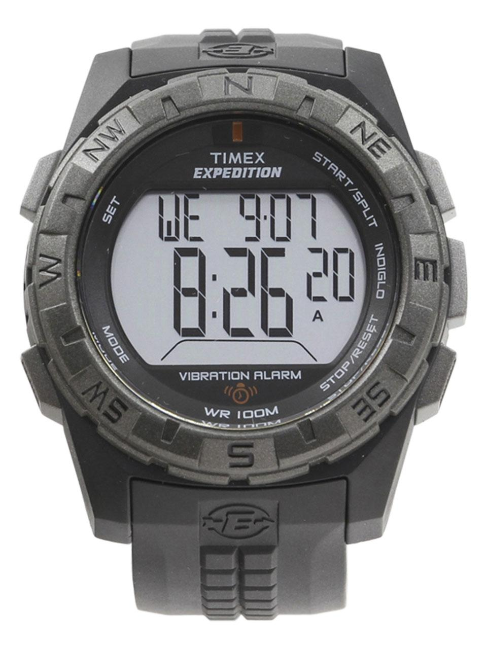 b40916250983 Timex Men s T49851 Expedition Vibration Alarm Black Digital Watch