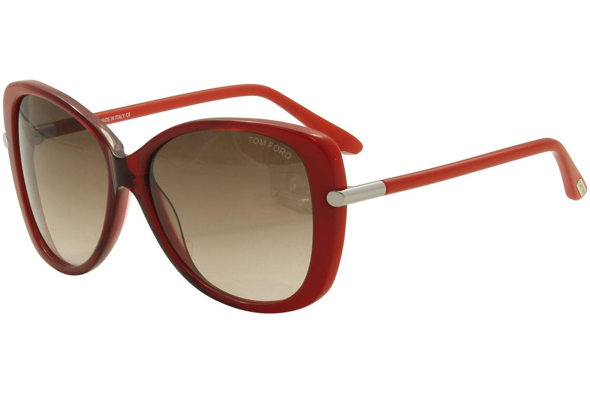 2c1d560069f30 Tom Ford Women s Linda TF324 TF 324 Butterfly Sunglasses by Tom Ford