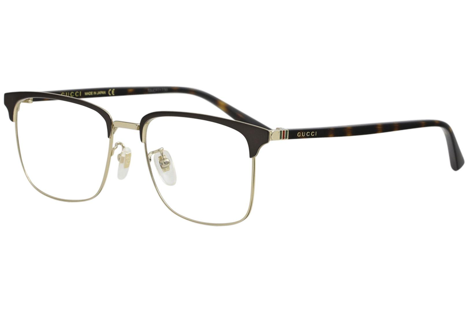 185b829cf073 Gucci Men s Eyeglasses GG0130O GG 0130 O Full Rim Optical Frame by Gucci