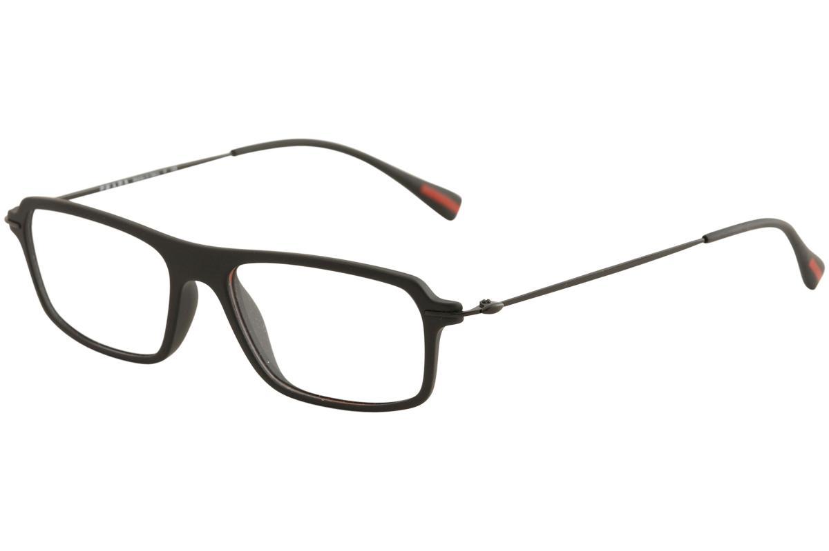afb5c2268f68 Prada Linea Rossa Men s Eyeglasses Red Feather VPS03F VPS 03F Optical Frame  by Prada Linea Rossa