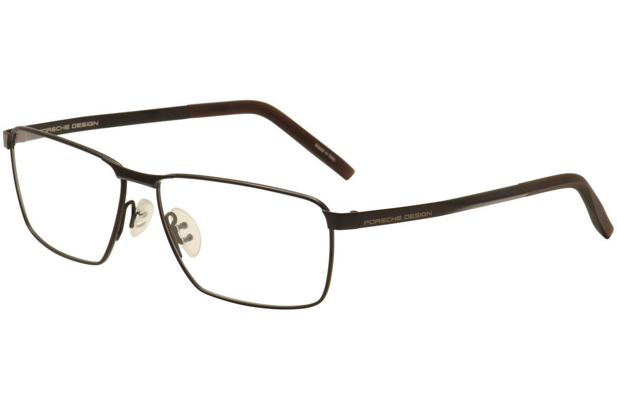 c66e56f1c64 Porsche Design Men s Eyeglasses P8302 P 8302 Full Rim Optical Frame by Porsche  Design