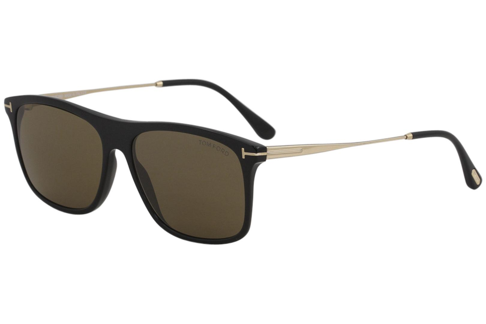 4dbc466837b8f Tom Ford Men s Max-02 TF588 TF 588 Fashion Square Sunglasses by Tom Ford