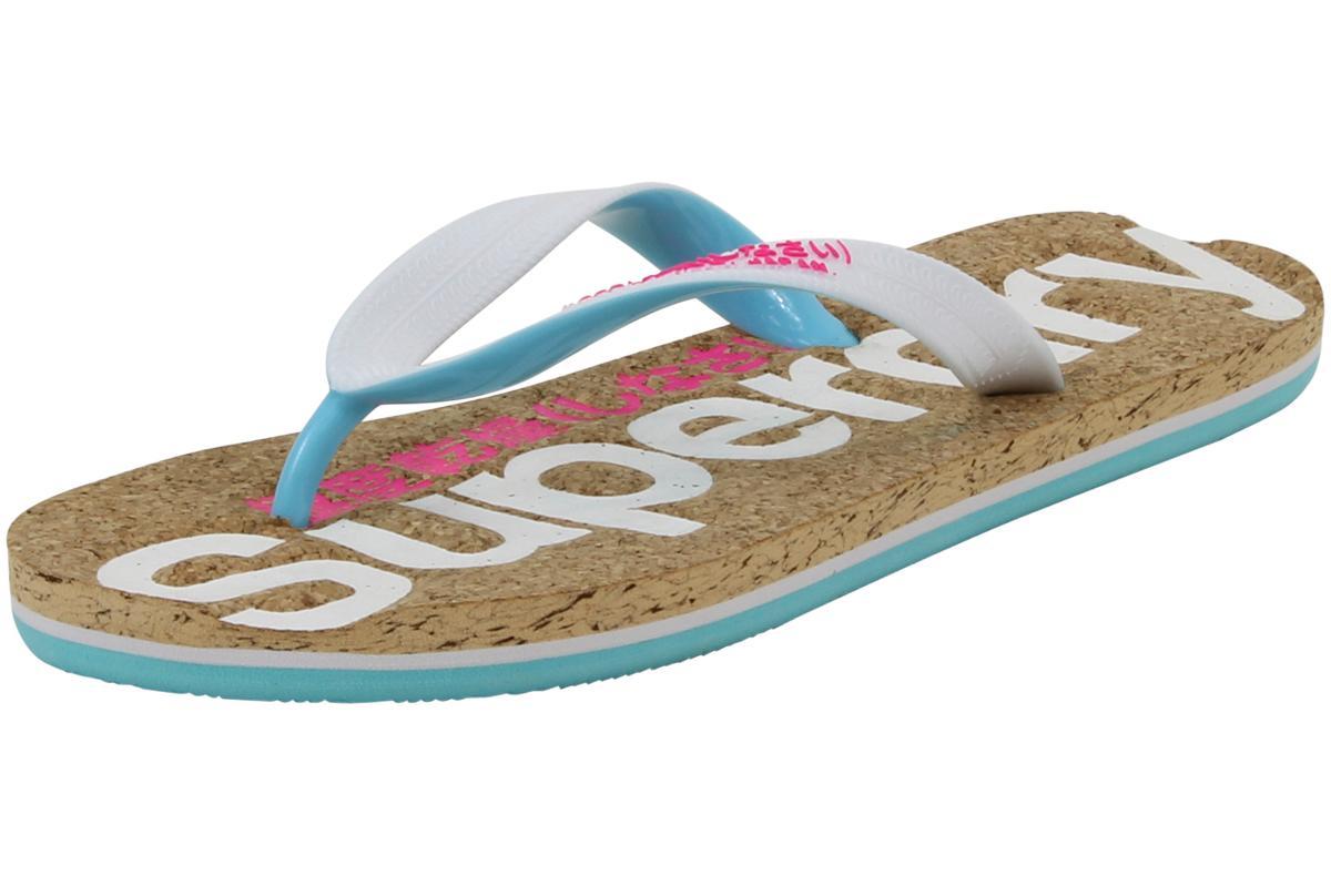 3bd1294dc26 Superdry Women s Colour Pop Cork Flip Flop Sandals Shoes by Superdry