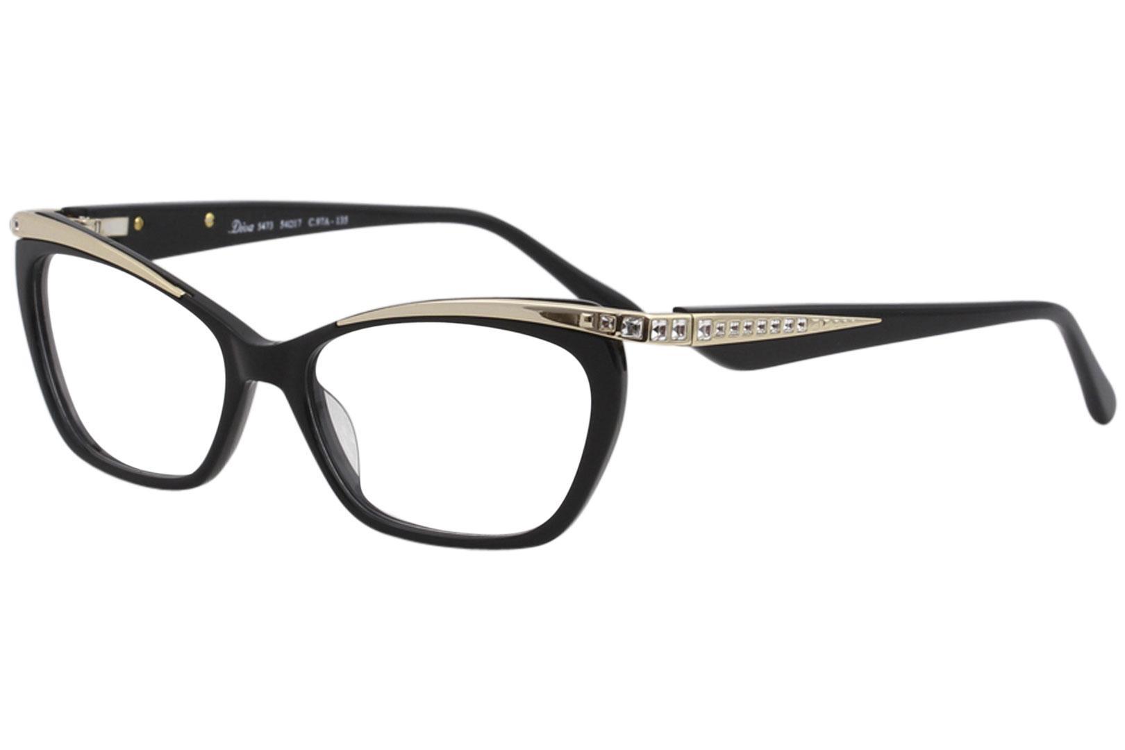 Diva Women\'s Eyeglasses 5473 Full Rim Optical Frame
