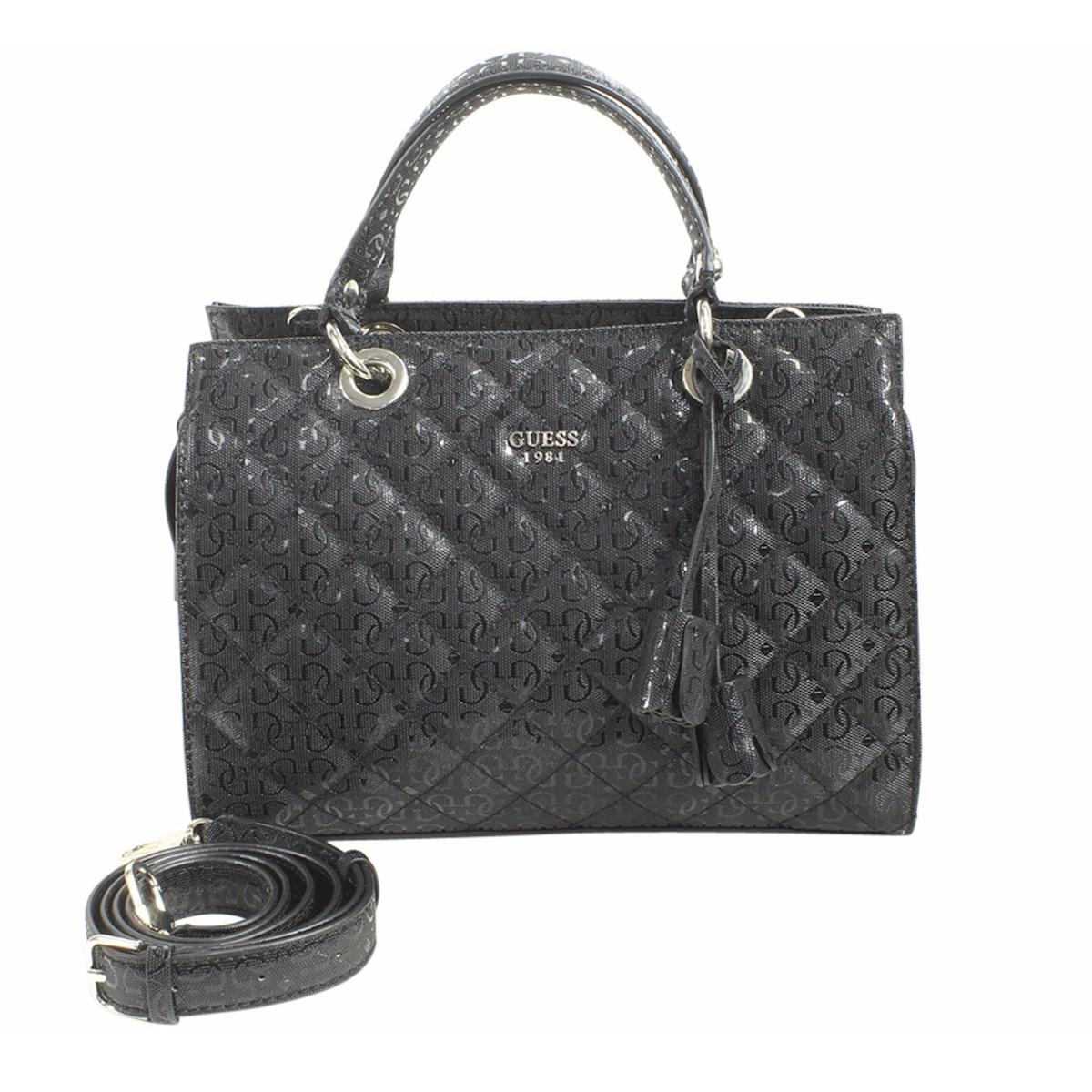 Guess Women s Seraphina Quilted Satchel Handbag by Guess d685c2bbae7dd