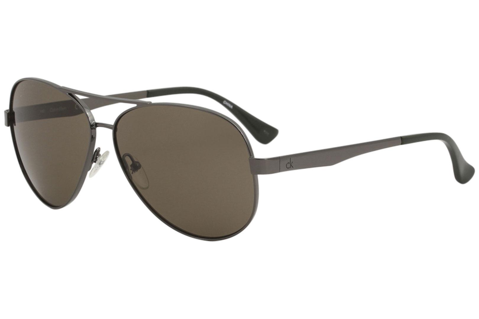 23e191b7cf Calvin Klein Women s CK2145S CK 2145 S Fashion Pilot Sunglasses by Calvin  Klein