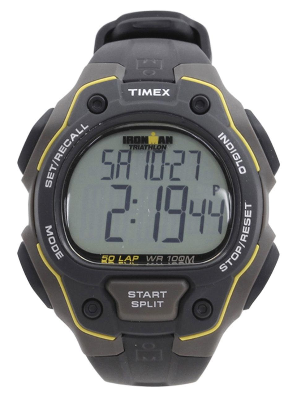 Timex Men s T5K494 Ironman Classic 50 Grey Black Digital Watch