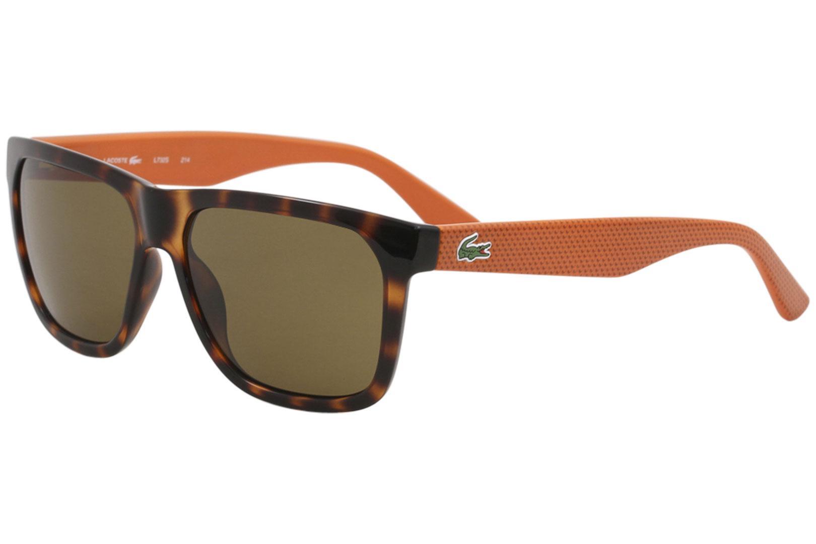 a6c6bebf8184 Lacoste Men s L732S L 732 S Fashion Square Sunglasses by Lacoste