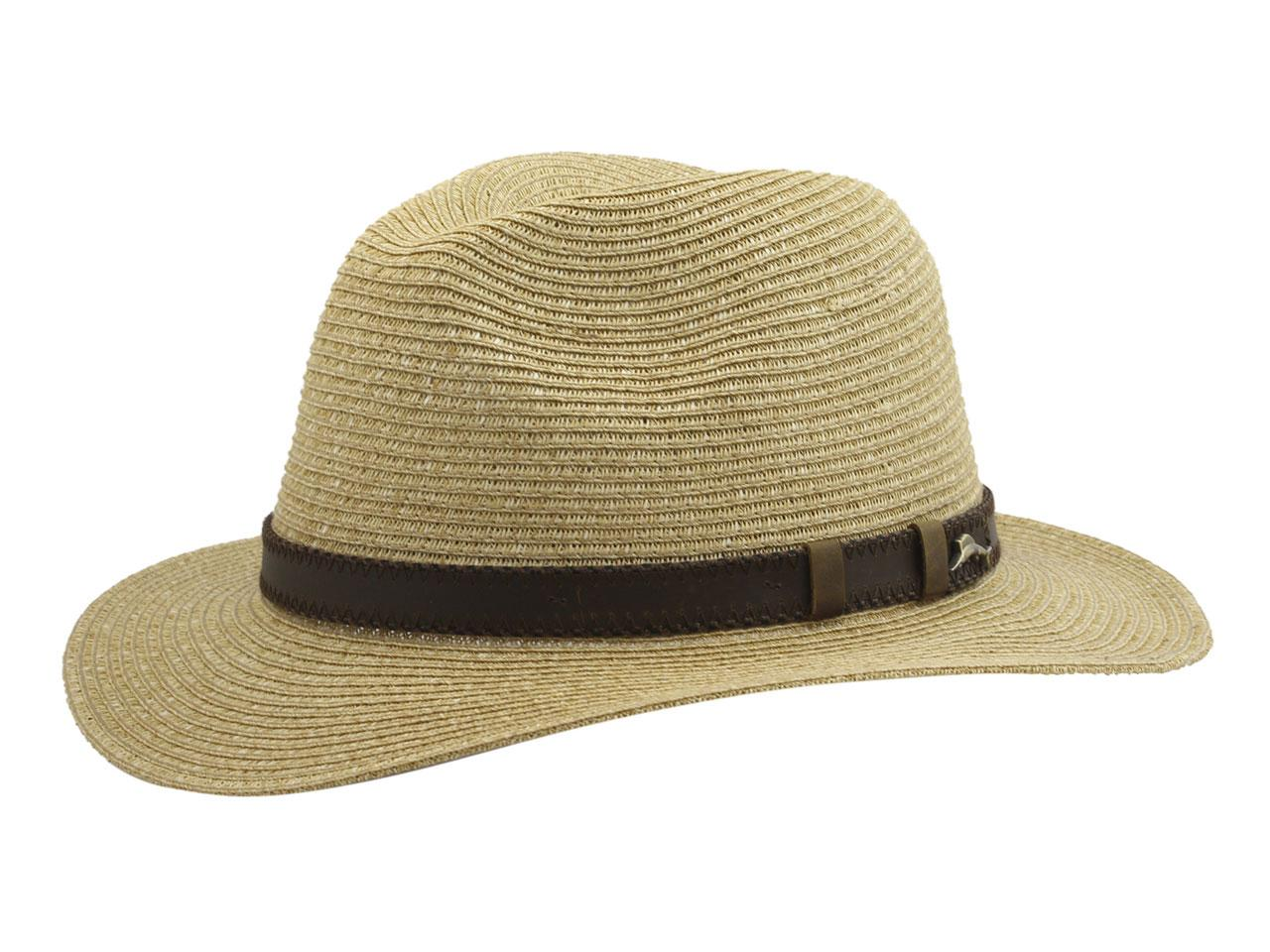 6d4c1817f3d75 Tommy Bahama Men s Fine Braid Toyo Safari Hat by Tommy Bahama. Touch to zoom