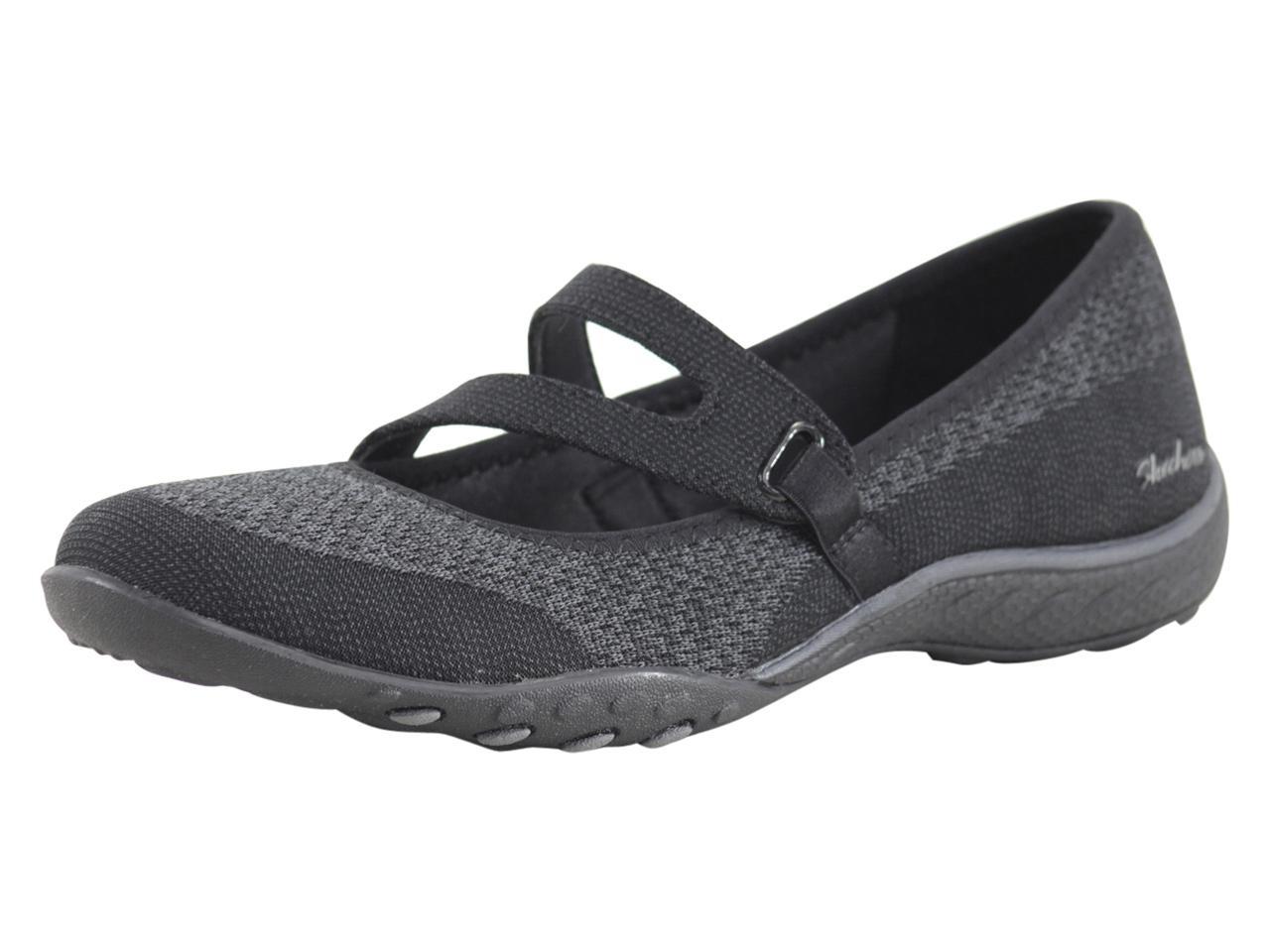 Skechers Women's Breathe Easy Lucky Lady Memory Foam Mary Janes Sneakers Shoes