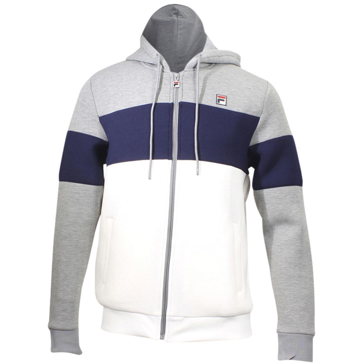 Fila Men s Hugo Long Sleeve Hooded Sweatshirt Hugo Hoody