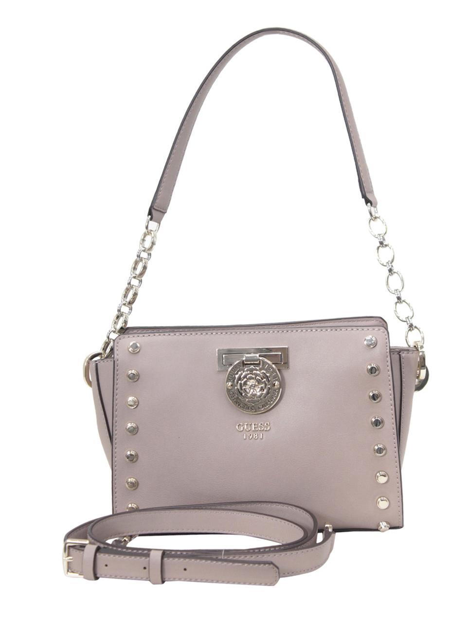 Guess Women's Marlene Studded Crossbody Handbag Kleding en
