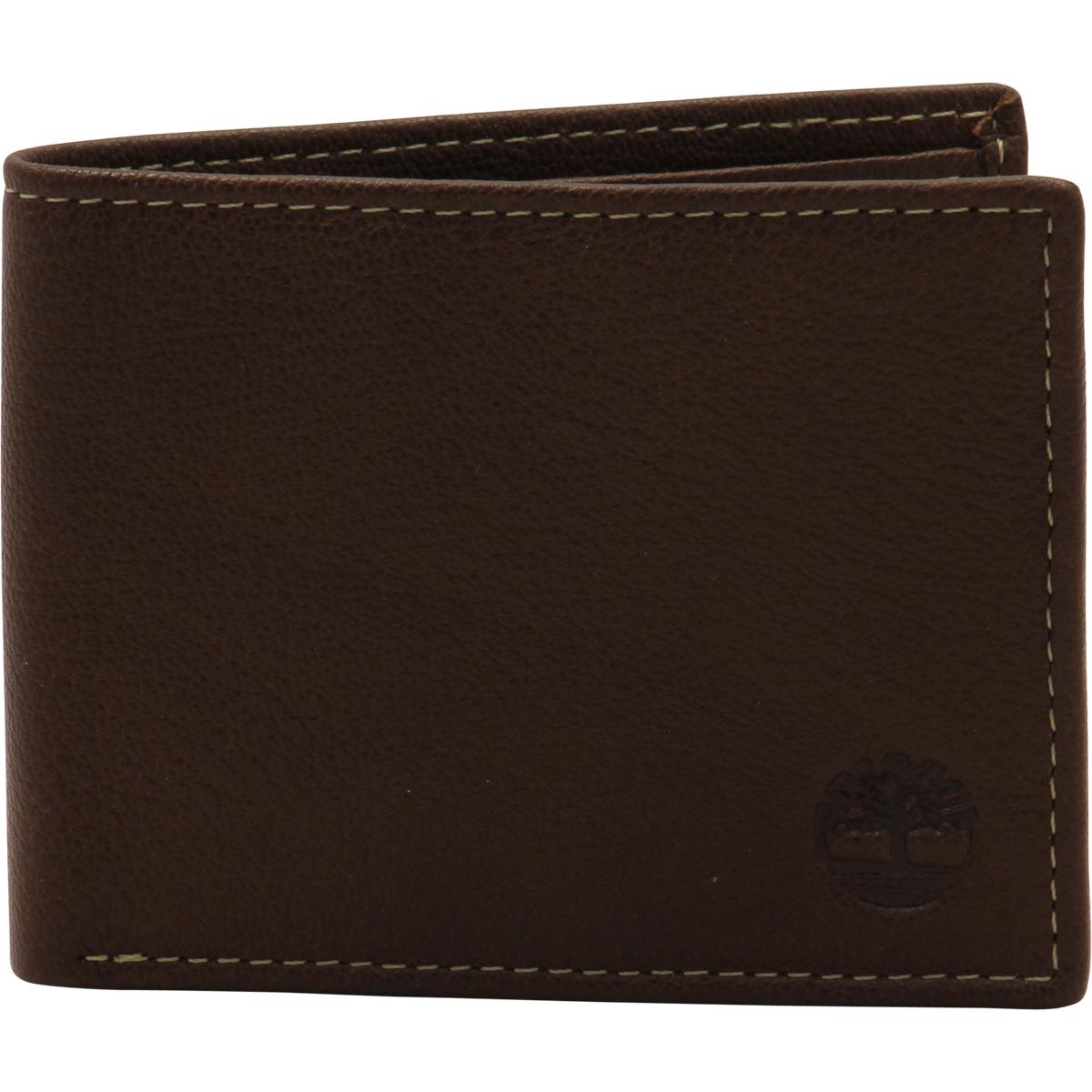 new high quality outlet store reasonable price Timberland Men's Blix Genuine Leather Slim-Fold Wallet
