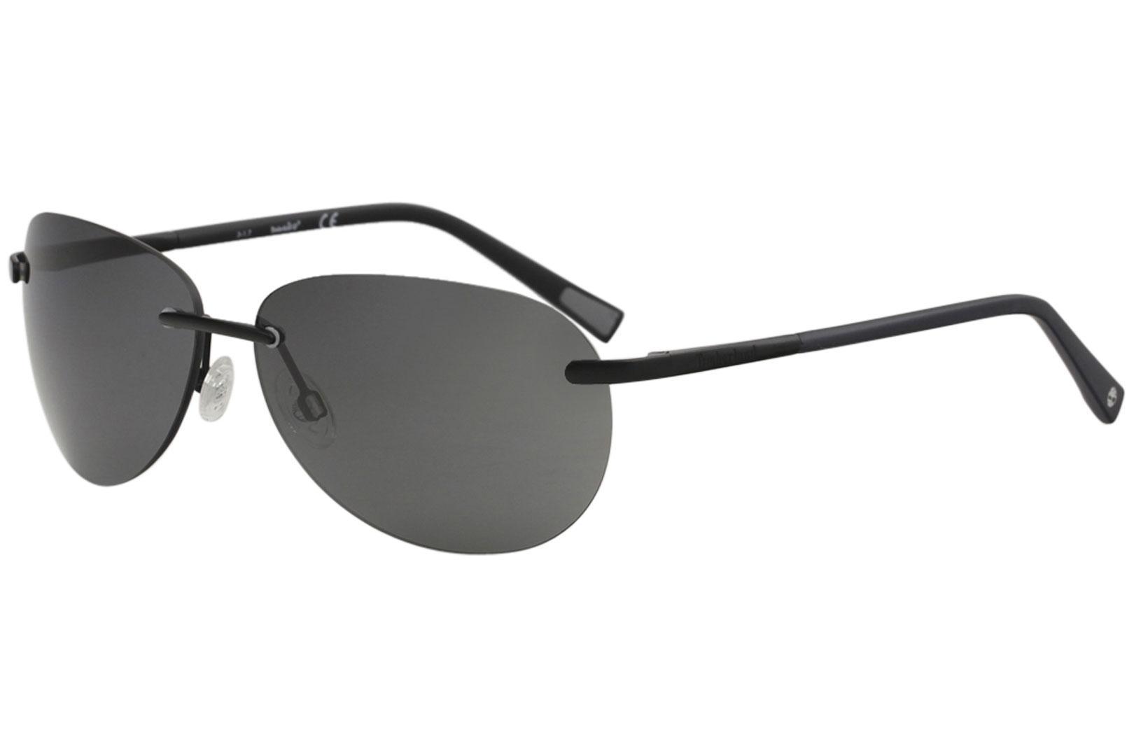 2270fc7ce3 Timberland Men s TB9117 TB 9117 Fashion Rectangle Polarized Sunglasses by  Timberland
