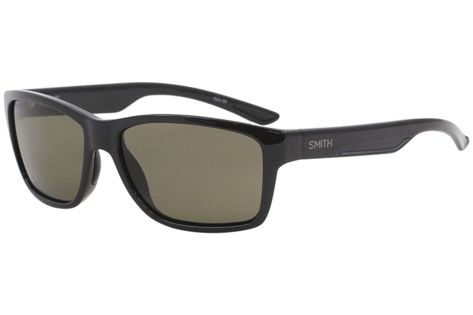 dd06b29b83b Smith Optics Wolcott Fashion Rectangle Polarized Sunglasses by Smith Optics