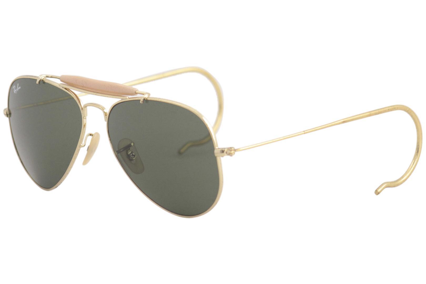 4841a3e39a RAY-BAN 3030 RayBan RB3030 Arista Gold L0216 Outdoorsman Sunglasses