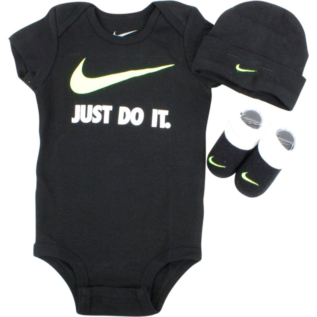 e9a12e5b04e48 Nike Infant Boy s Just Do It Swoosh 3-Piece Set (Hat