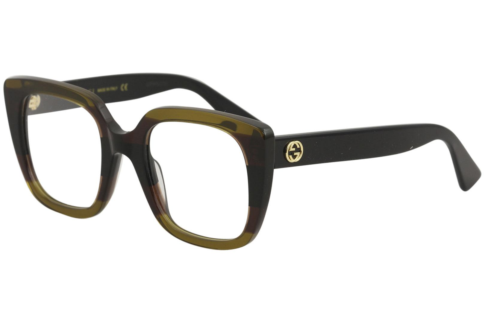 cb6375aecae Gucci Women s Eyeglasses GG0180O GG 0180 O Full Rim Optical Frame by Gucci
