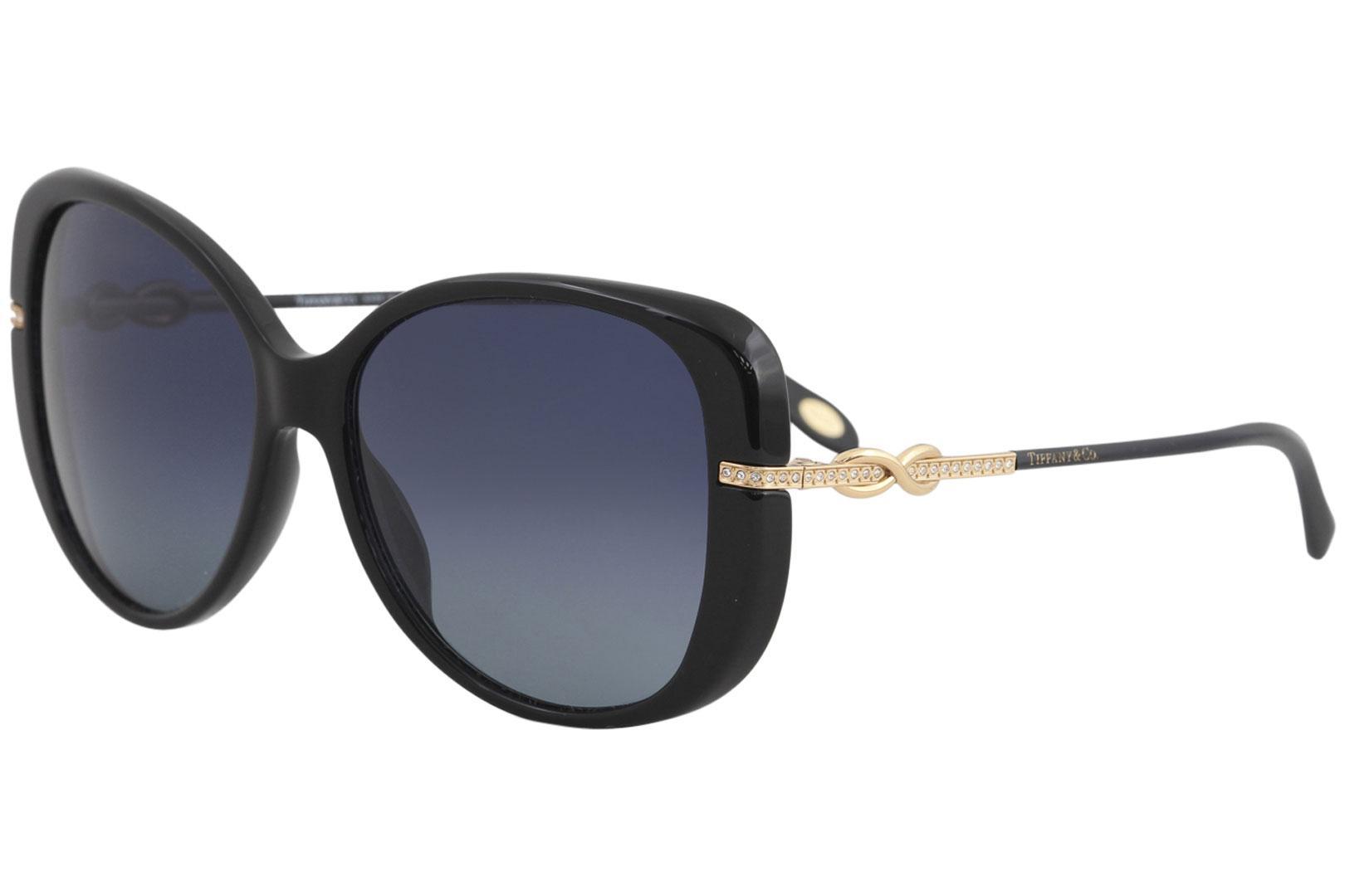 fdac74cf71 Women's TF4126B TF/4126/B Fashion Butterfly Polarized Sunglasses by Tiffany  & Co.