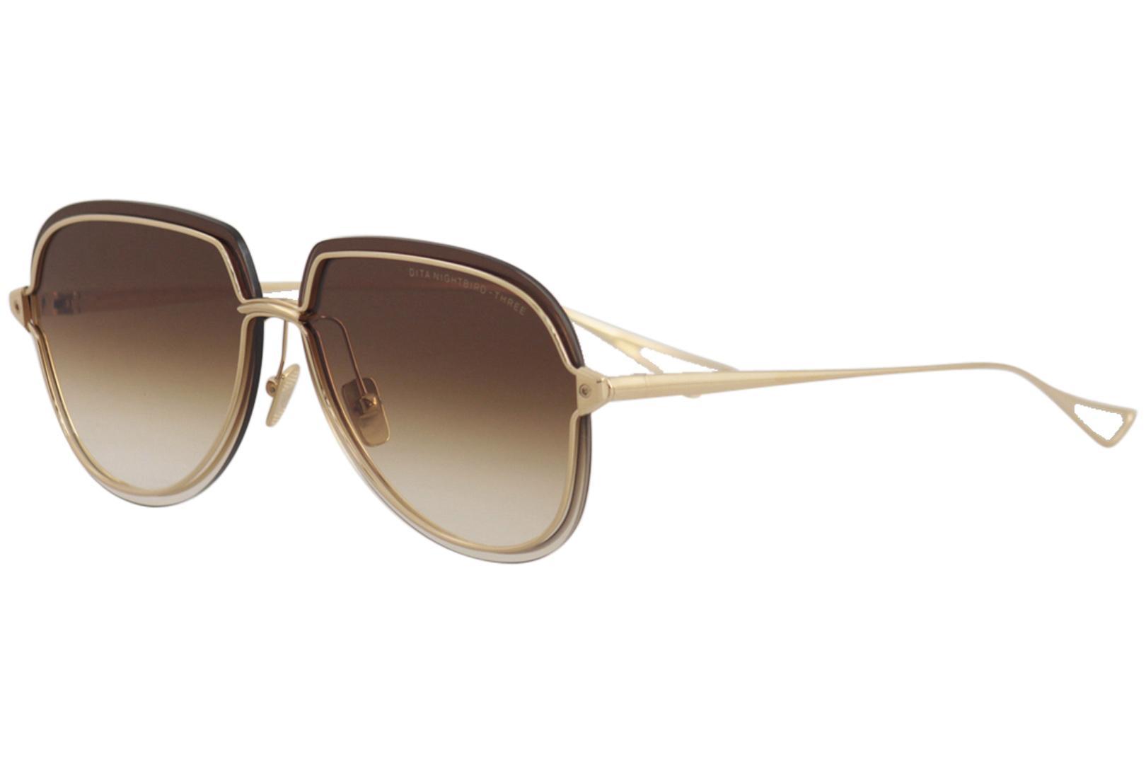 db54eeda400 Dita Women s Nightbird-Three DTX520 DTX 520 Fashion Pilot Sunglasses by  Dita. Touch to zoom