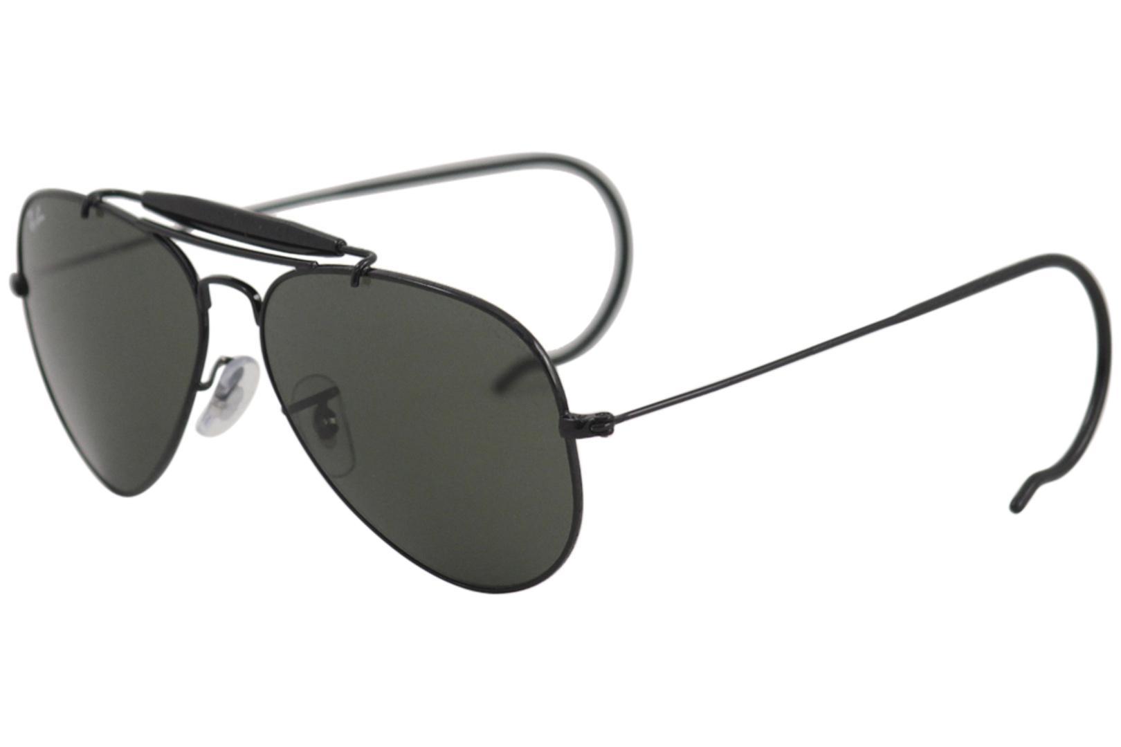 6c65e4c6cb RayBan Sunglasses Ray Ban Outdoorsman 3030 L9500 Black Shades