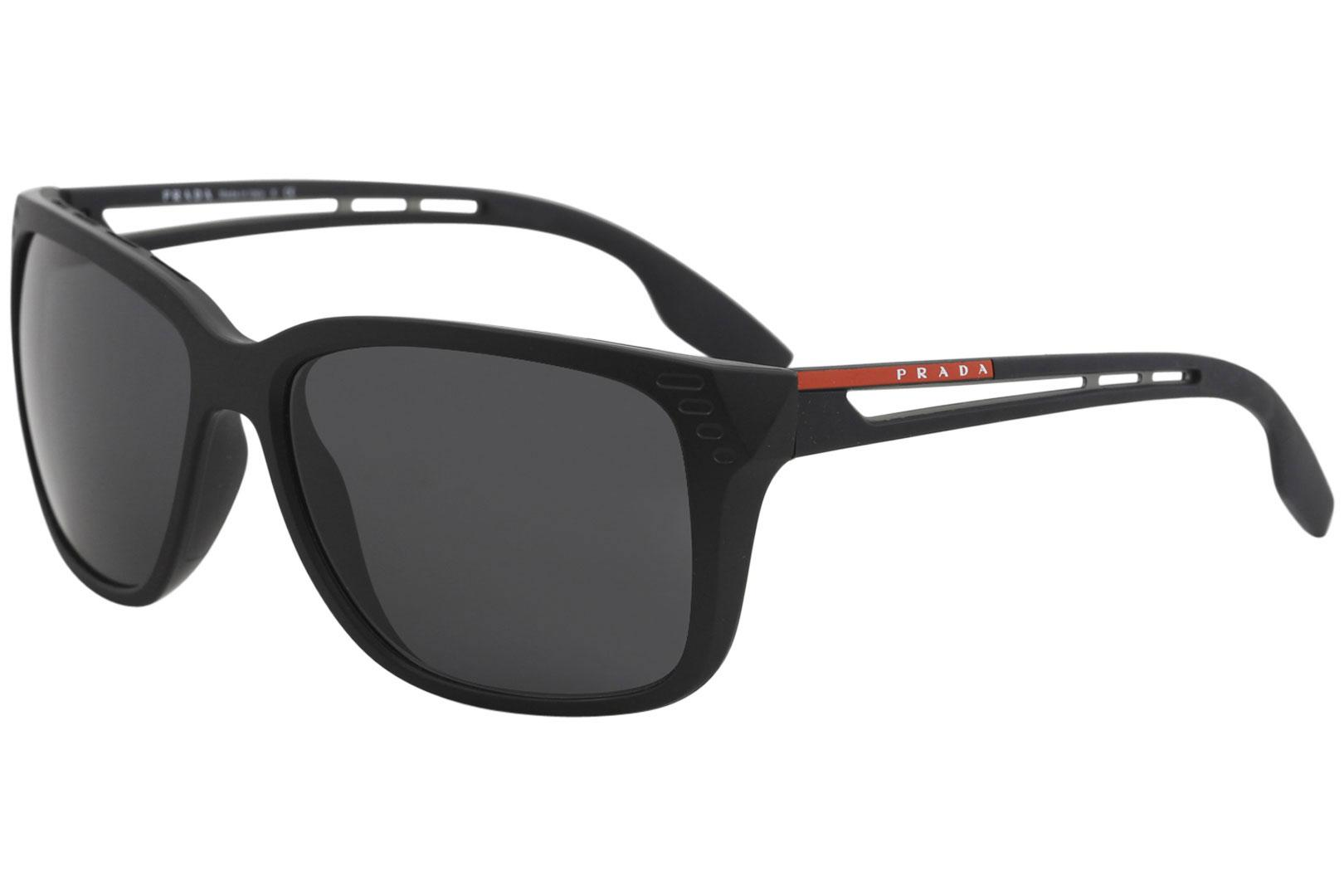 2d8daa0cea239 Prada Men s Linea Rossa SPS03T SPS 03T Fashion Square Sunglasses by Prada
