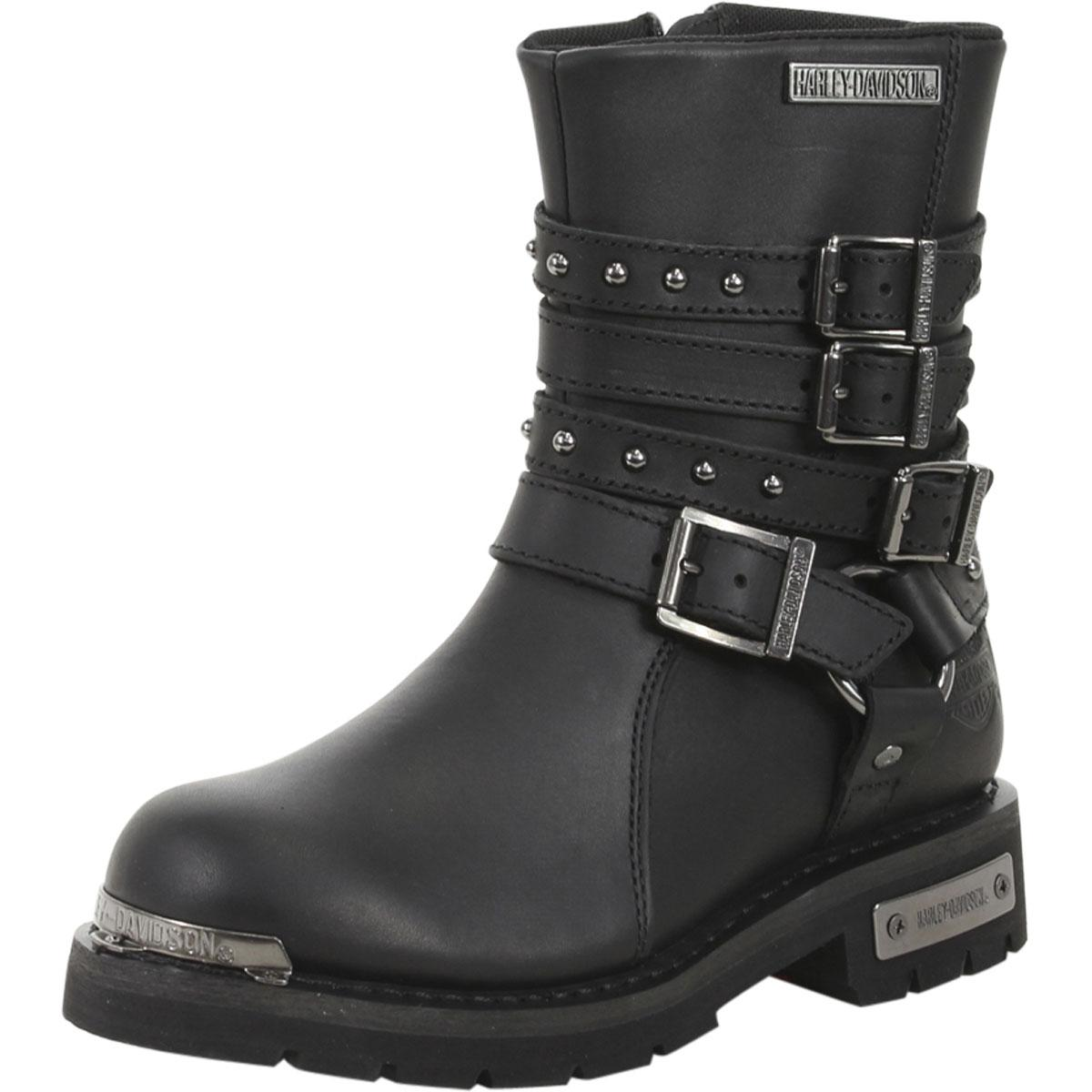 Harley Davidson Women's Eddington Motorcycle Boots Shoes