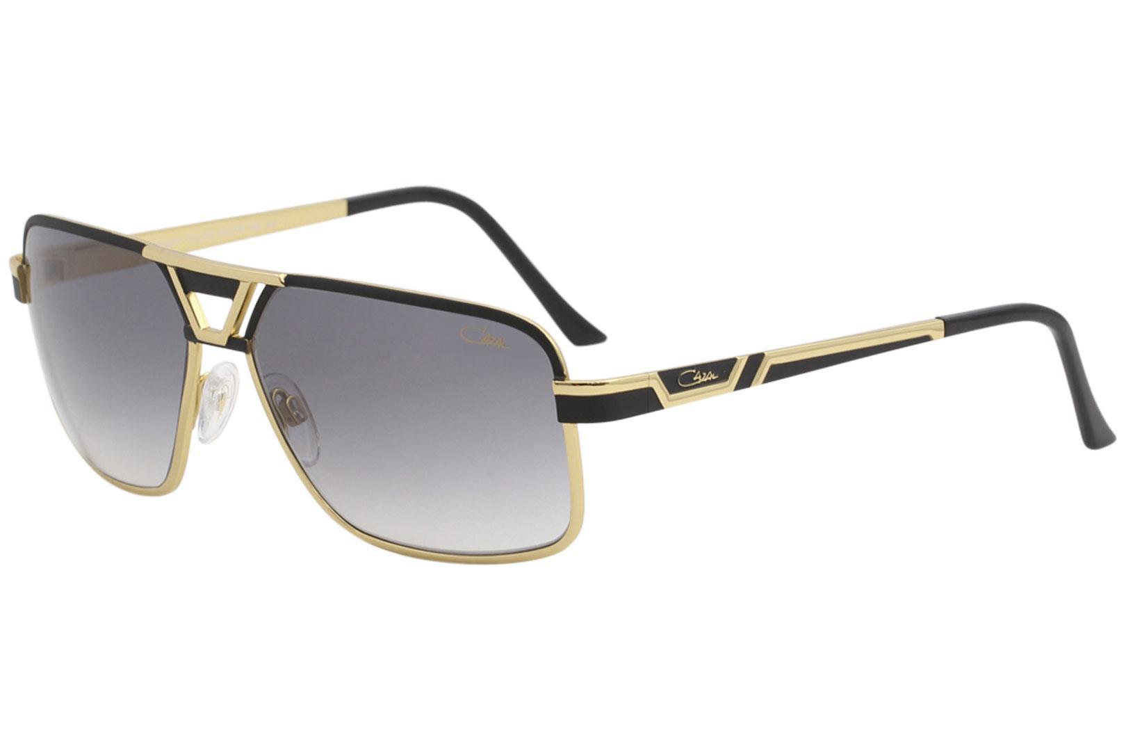 d27ce6282c Cazal Men s 9071 Retro Pilot Sunglasses by Cazal