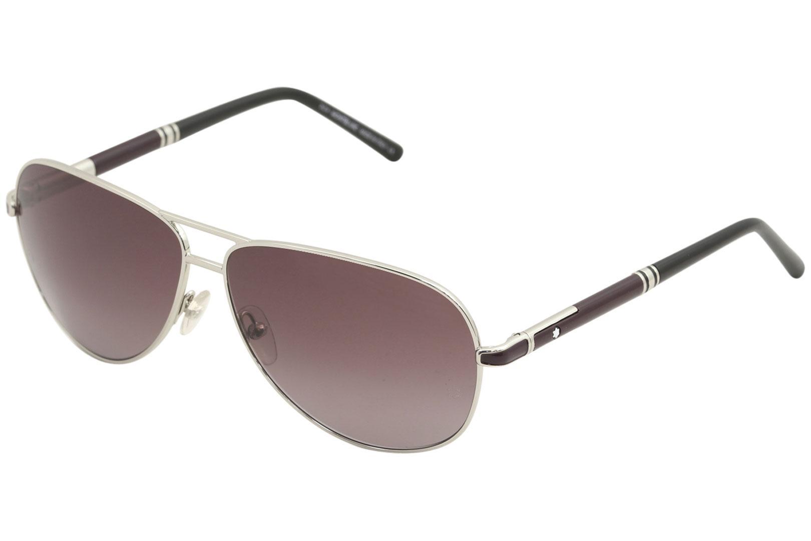 26cd019efd Mont Blanc Men s MB521S MB 521 S Fashion Pilot Sunglasses by Mont Blanc