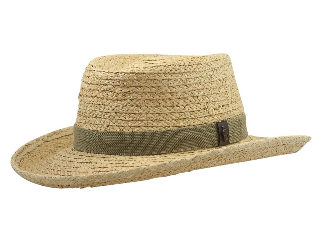 cff96d6390a Scala Pro Men s Fine Braid Raffia Golf Gambler Hat by Scala. Touch to zoom