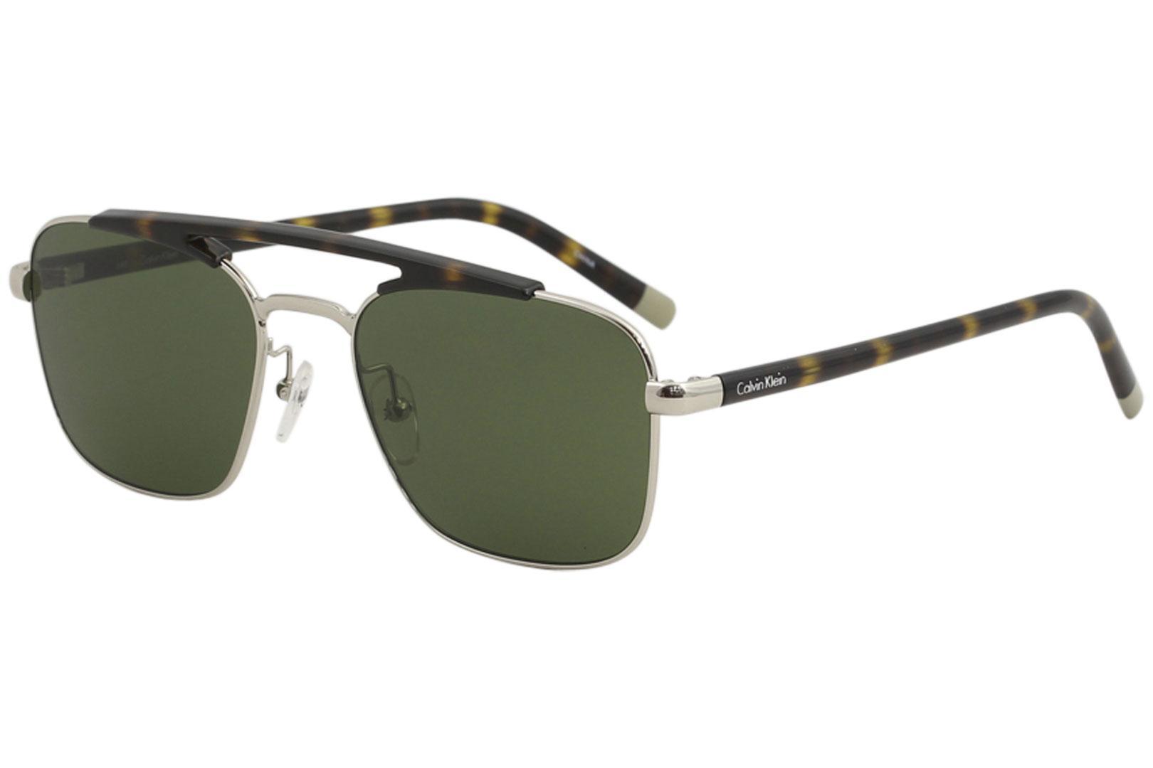 0e56fc5a836fa Calvin Klein Men s CK1221S CK 1221 S Fashion Pilot Sunglasses by Calvin  Klein