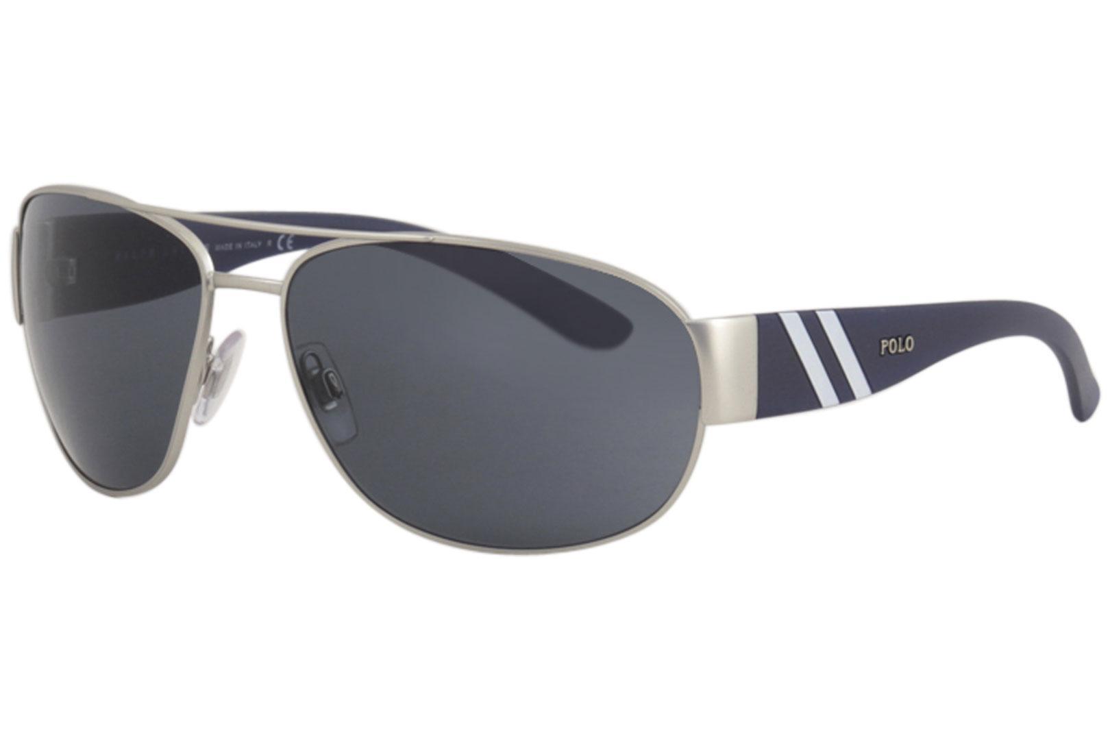 0b3e73ffe0 Polo Ralph Lauren Men s PH3052 PH 3052 Fashion Pilot Sunglasses by Polo  Ralph Lauren