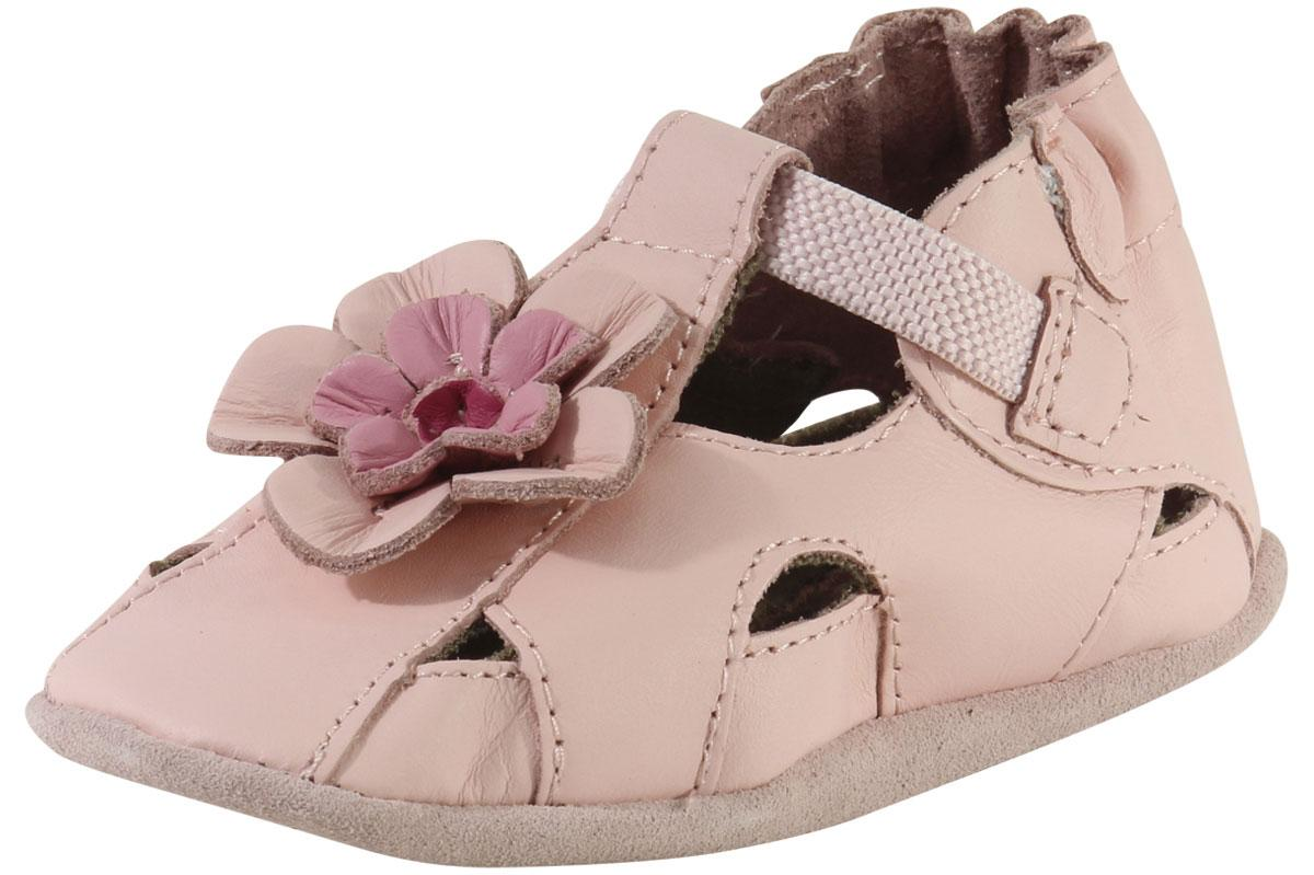 e0f1196ad8df8 Robeez Mini Shoez Infant Girl s Pretty Pansy Sandals Shoes by Robeez