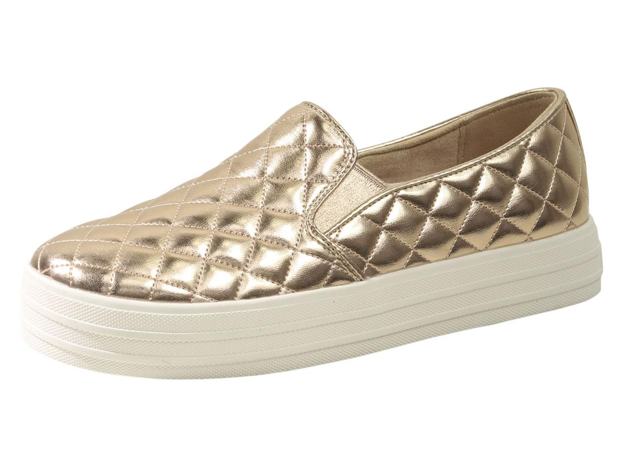 a71baef8b44 Skechers Women s Double Up Duvet Memory Foam Loafers Shoes