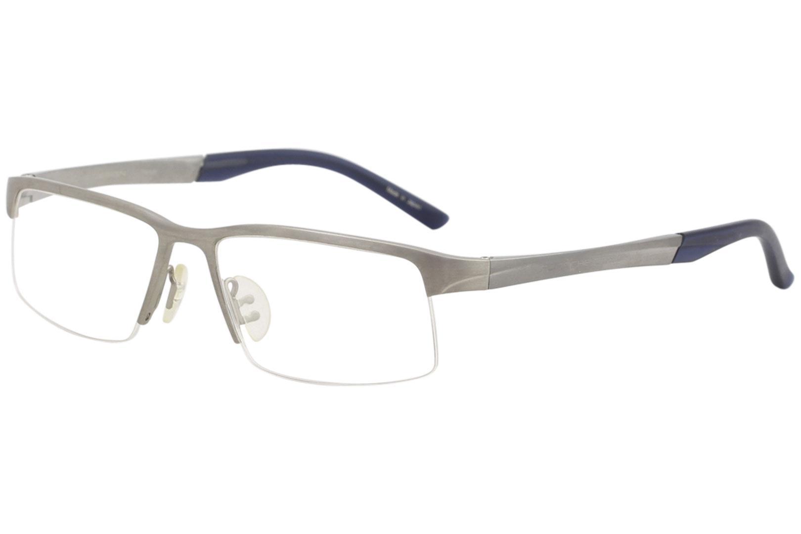 605e1decfba Porsche Design Men s Eyeglasses P8166 P 8166 Half Rim Titanium Optical Frame  by Porsche Design