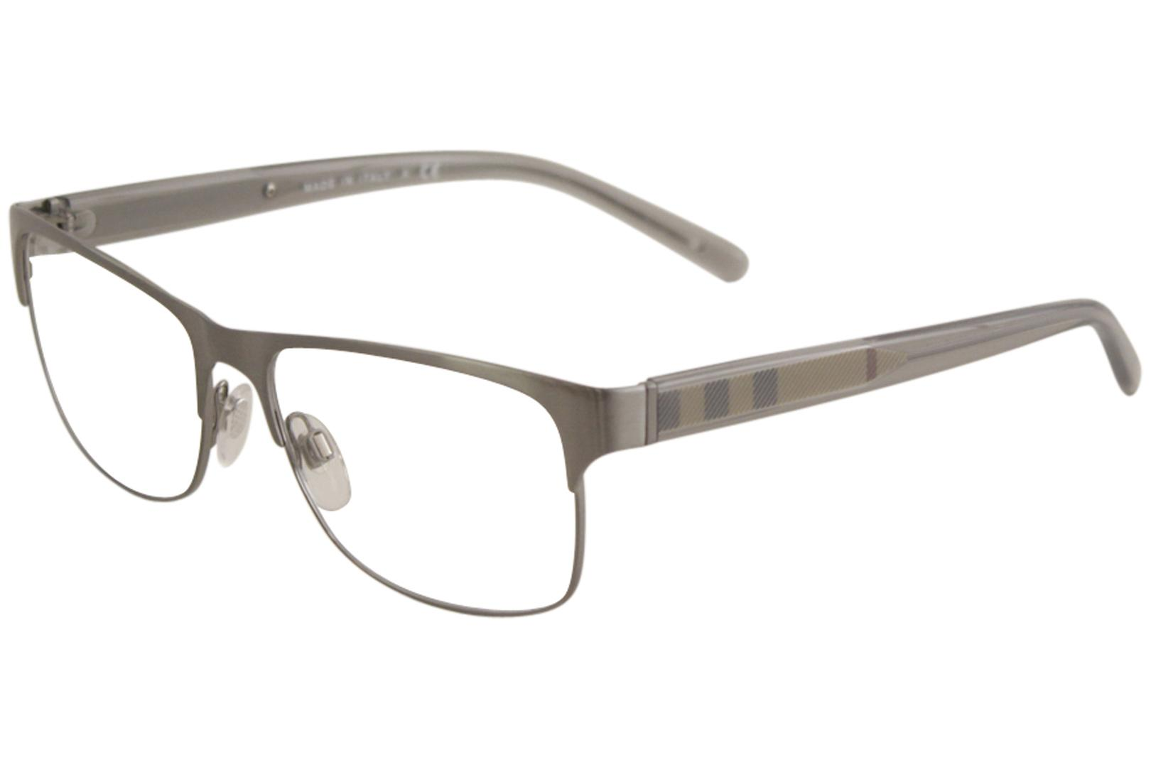 6882cad656b5 Burberry Men's Eyeglasses BE1289 BE/1289 Full Rim Optical Frame by Burberry