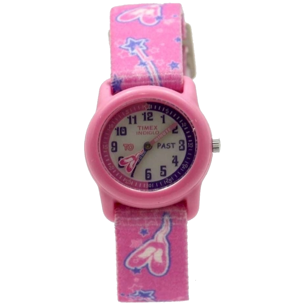 Image of Timex Kid s T7B151 Pink  Ballerina Elastic Analog Watch