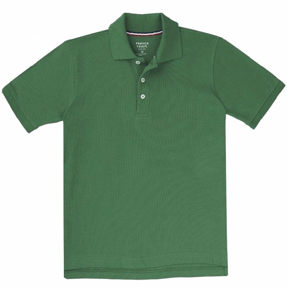 French Toast Boy s Short Sleeve Pique Polo Uniform Shirt Short Sleeve Pique Polo