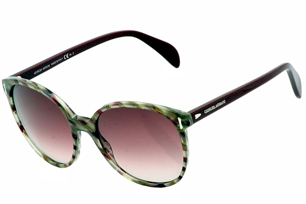 Image of Giorgio Armani Sunglasses GA 842 S Havana Burgundy Shades