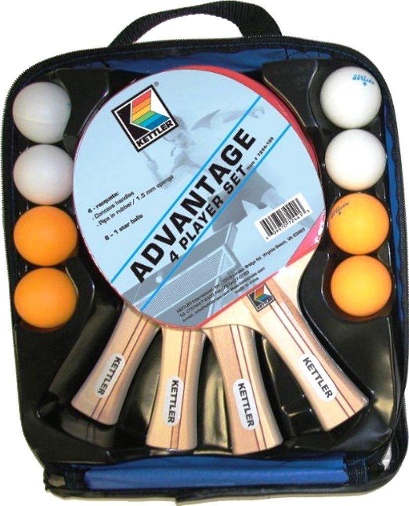 Image of Kettler Advantage 4 Player Table Tennis Set