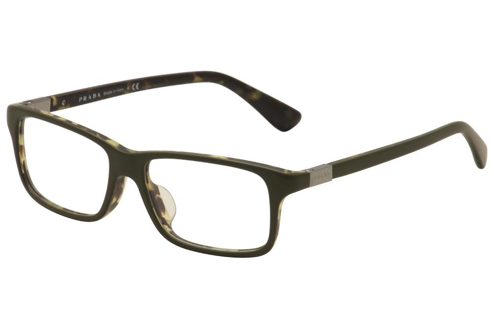 Prada Men\'s Eyeglasses VPR 06SF 06S-F Full Rim Optical Frame (Asian Fit)