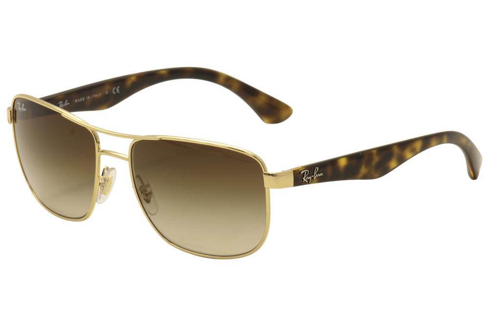 e285433178e Ray Ban Men s RB3533 RB 3533 RayBan Fashion Pilot Sunglasses by Ray Ban